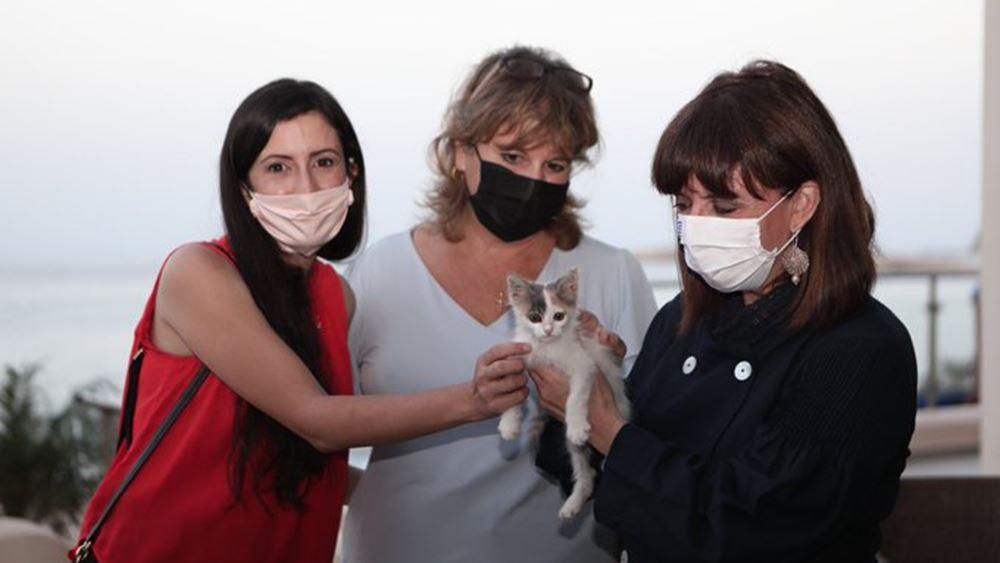 Σακελλαροπούλου: Τα ζώα είναι συναισθανόμενα όντα, που αξίζουν προστασία και σεβασμό