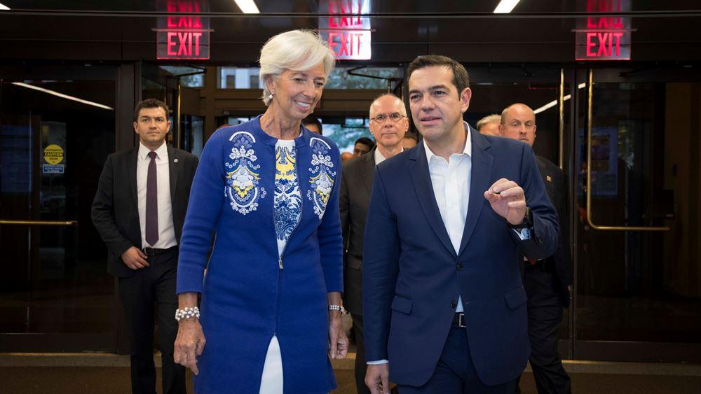 """""""Σύμμαχο"""" στην αξιολόγηση βλέπει τώρα η Κυβέρνηση το ΔΝΤ"""