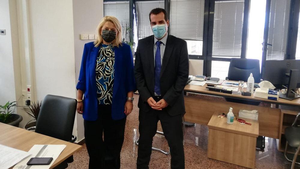 Συναντήσεις υπουργού Υγείας με την διοικήτρια του ΕΟΠΥΥ και τον πρόεδρο του ΕΟΔΥ
