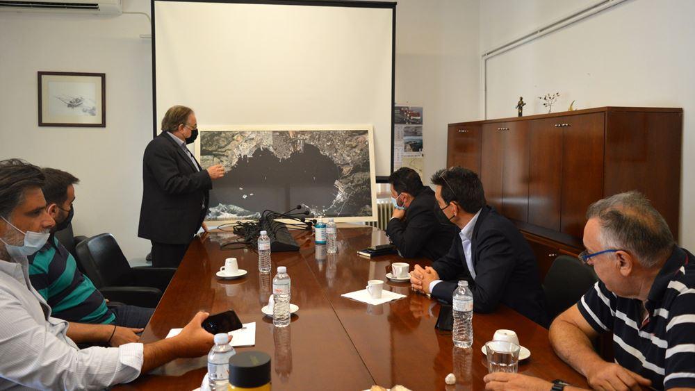 Συνάντηση εργασίας για την σύνδεση του Λιμένα Ελευσίνας με το σιδηροδρομικό δίκτυο