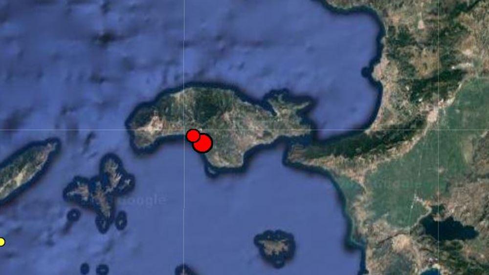 Σεισμός 4,5 Ρίχτερ στον Μαραθόκαμπο Σάμου