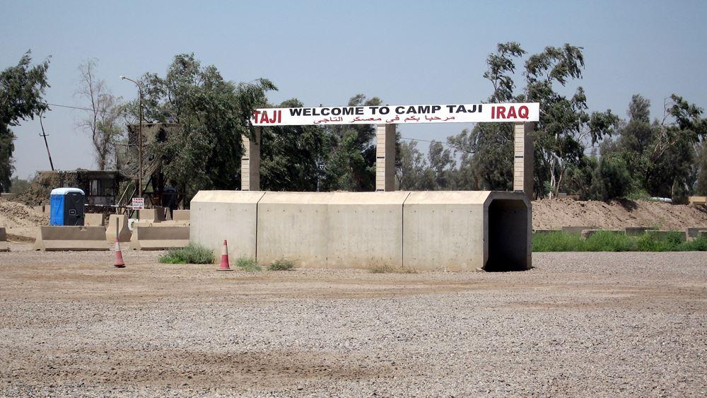 """Πεντάγωνο: """"Όλες οι επιλογές στο τραπέζι"""" μετά την επίθεση με ρουκέτες σε ιρακινή βάση"""