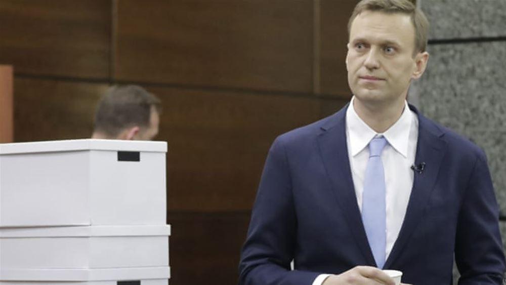 Ρωσία: Τραυματίστηκε ελαφρά κατά τη νέα σύλληψή του ο αρχηγός της εξωκοινοβουλευτικής αντιπολίτευσης Ναβάλνι