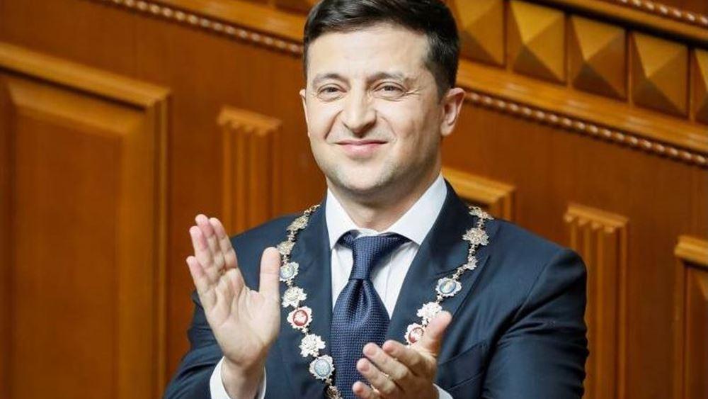 Τηλεφωνική επικοινωνία Ζελένσκι - Πούτιν για την ανατολική Ουκρανία