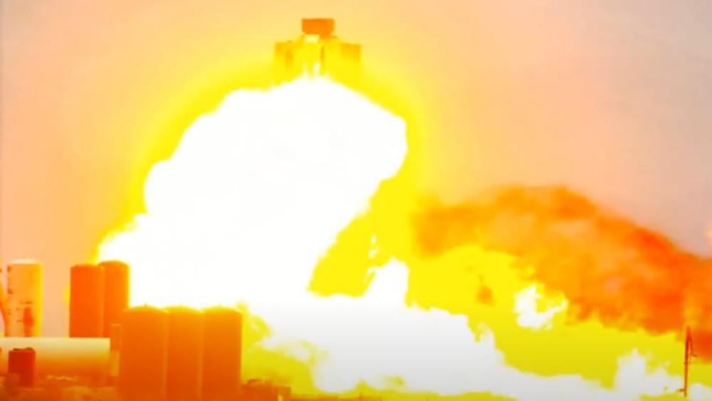 Εξερράγη πύραυλος της SpaceX σε δοκιμές στο Τέξας