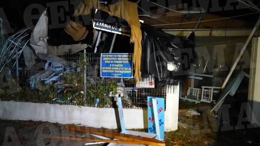 Σε κατάσταση έκτακτης ανάγκης η Χαλκιδική - Στους επτά οι νεκροί απ' τη θεομηνία