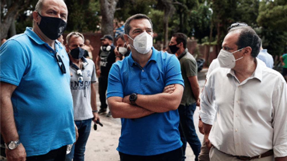 """ΣΥΡΙΖΑ: Ευκαιρία οι πυρκαγιές για επιστροφή σε """"κανονικότητα"""""""