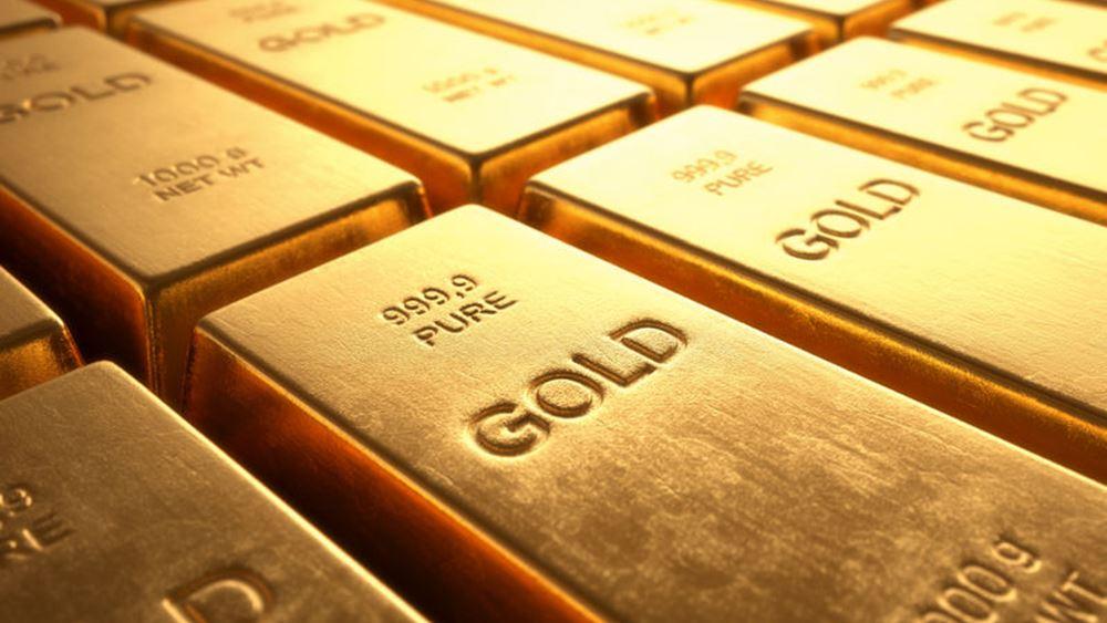 Πτώση για τον χρυσό λόγω Fed και... Ιράν