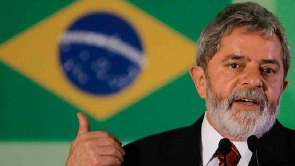 """Βραζιλία: """"Η μάχη δεν έχει τελειώσει"""", τόνισε ο πρώην πρόεδρος Λούλα"""