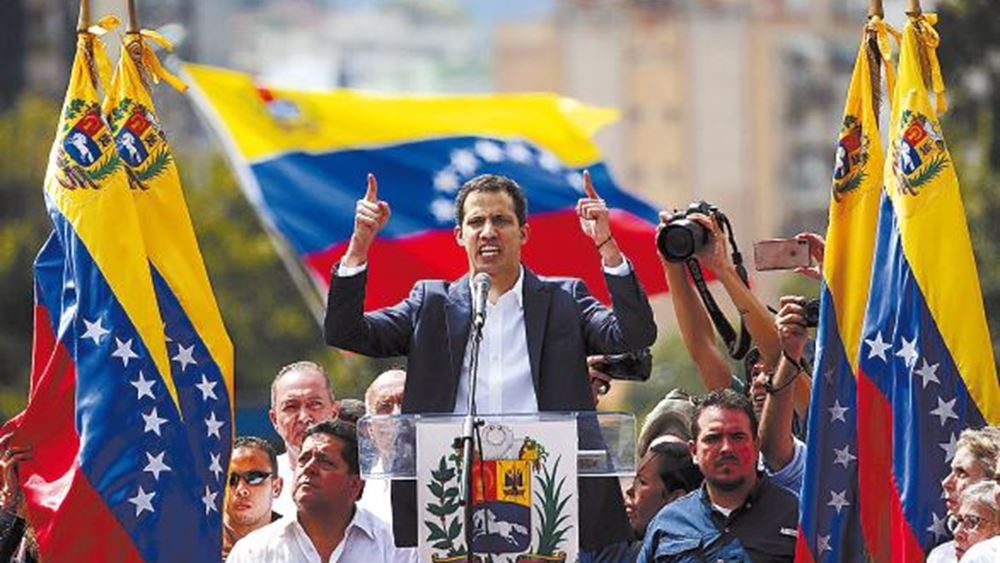 Έντεκα χώρες της ΕΕ αναγνώρισαν επισήμως τον Γκουαϊδό ως πρόεδρο της Βενεζουέλας