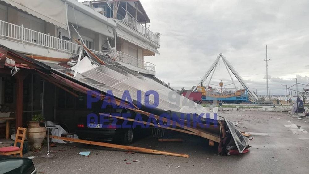 Εκτεταμένες καταστροφές σε καλλιέργειες στις περιοχές Σήμαντρα, Ν.Τένεδος και Βάβδος