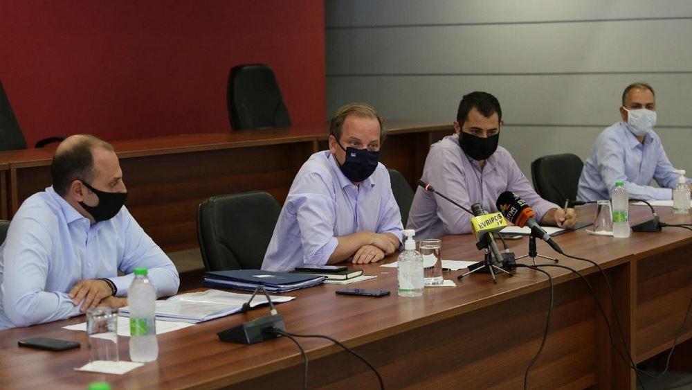 Αυτοψία Καραμανλή στην Εύβοια για τις εργασίες αποκατάστασης των ζημιών των πληγέντων