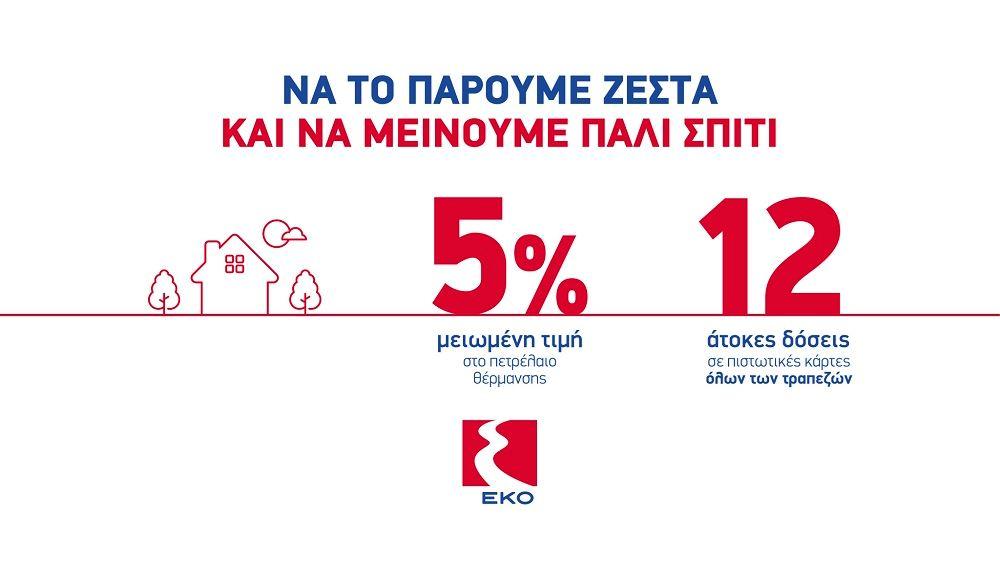 H EKO επαναφέρει την μεγάλη προσφορά για το Πετρέλαιο Θέρμανσης