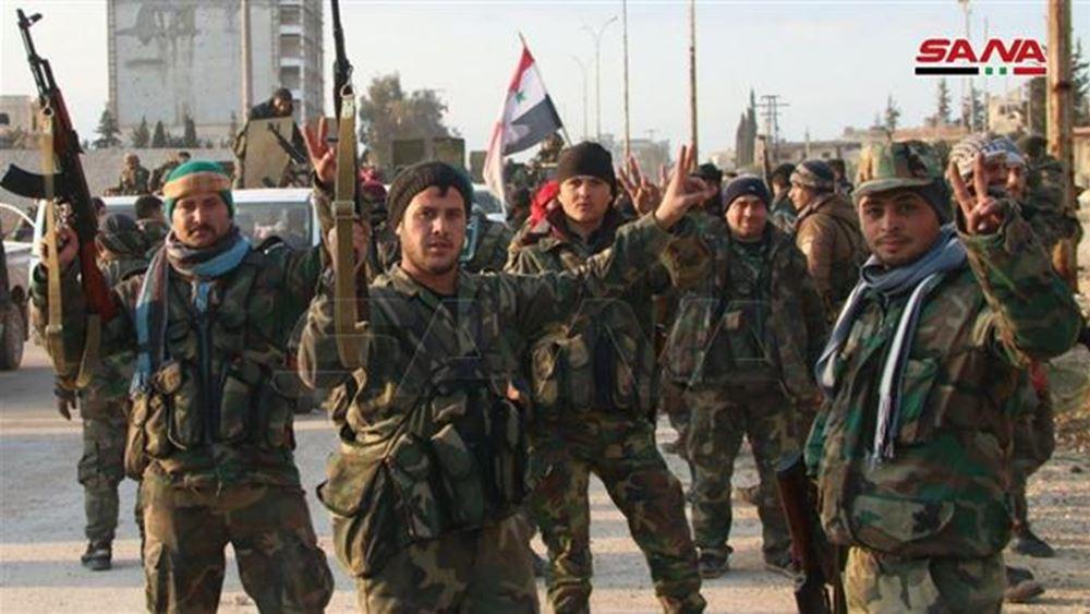 """Συρία: Έξι μαχητές προσκείμενοι στο καθεστώς νεκροί σε επίθεση του """"Ισλαμικού Κράτους"""""""