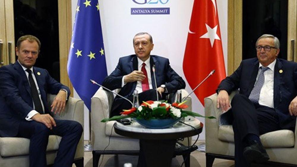 ΕΕ: Ανοίγει ο δρόμος για κυρώσεις κατά Τουρκίας