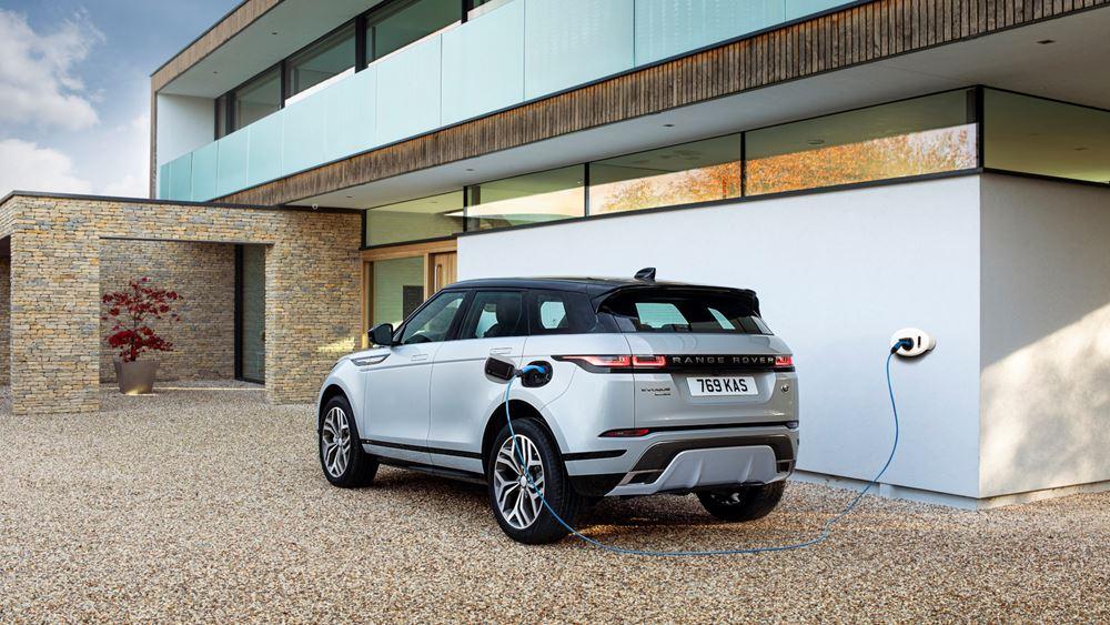 Το Range Rover Evoque και το Land Rover Discovery Sport σε plug-in hybrids