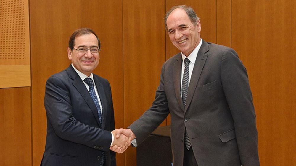 Οι εξελίξεις στον τομέα των υδρογονανθράκων στη συνάντηση των υπουργών Ενέργειας Ελλάδας - Αιγύπτου