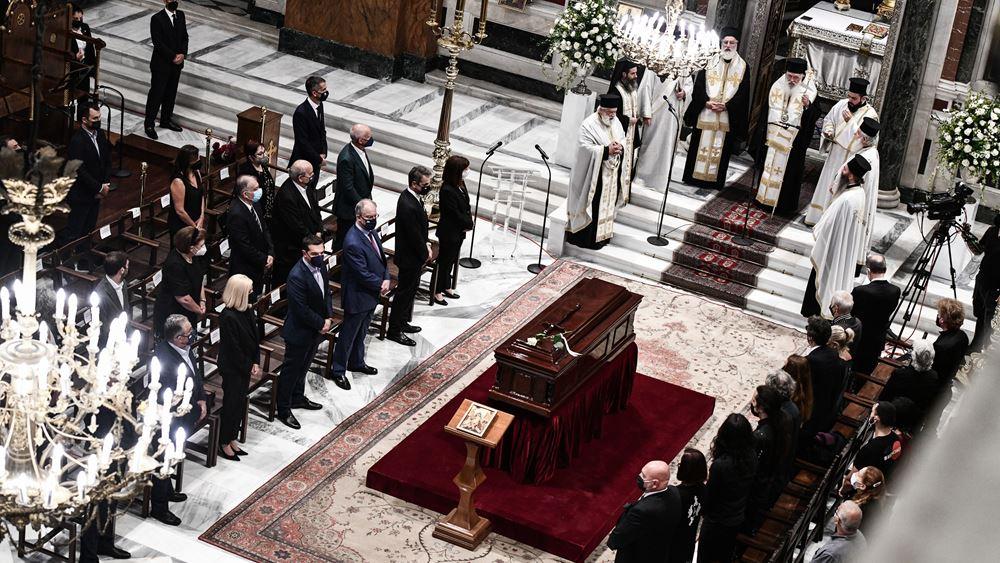 Η Ελλάδα αποχαιρέτησε τον Μίκη Θεοδωράκη