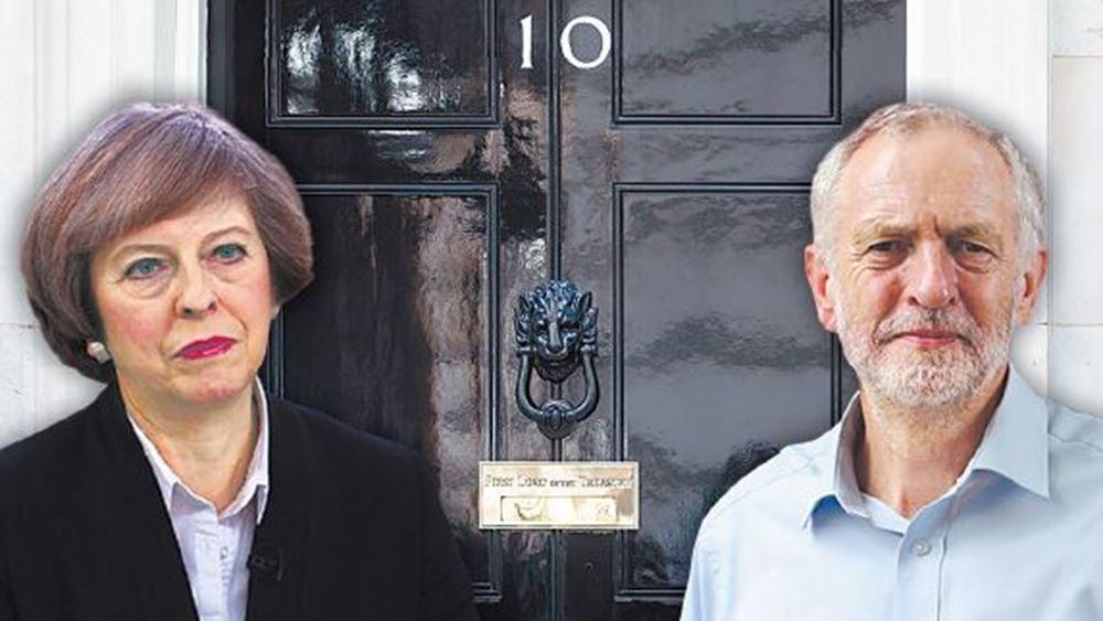 Βρετανία: Άκαρπες οι συνομιλίες Μέι-Κόρμπιν για το Brexit