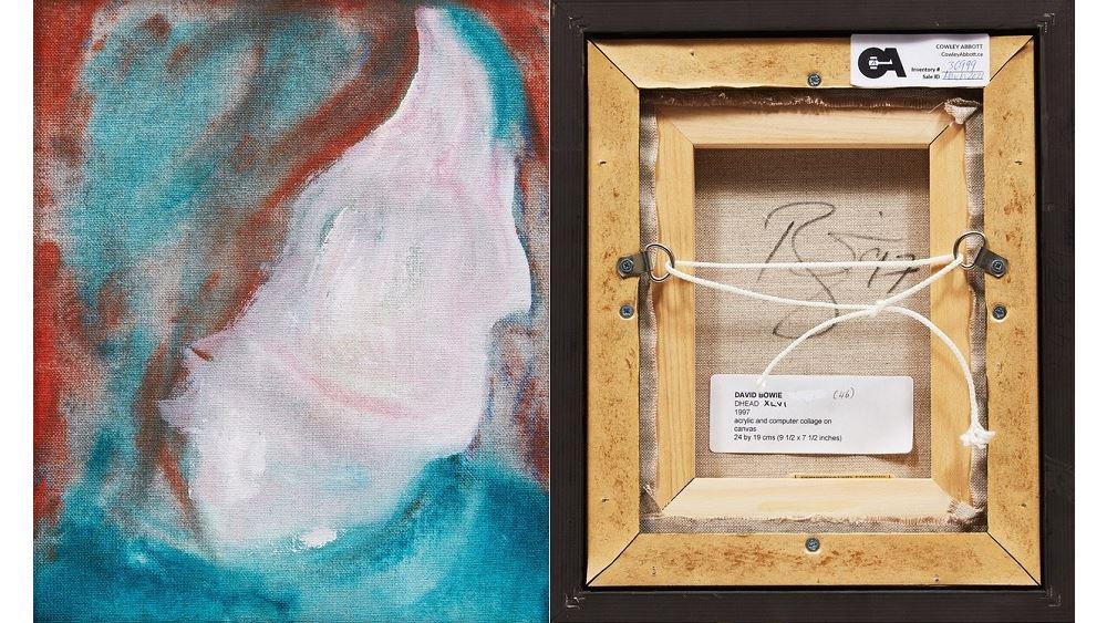 Πίνακας του Ντέιβιντ Μπόουι πουλήθηκε έναντι 108.000 δολ. - Είχε αγοραστεί μόλις 5 δολάρια