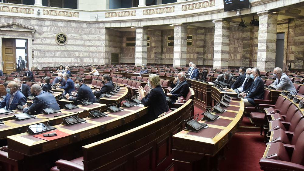 Μεικτές αντιδράσεις της αντιπολίτευσης για τις συμφωνίες Ελλάδας με Ιταλία και Αίγυπτο για ΑΟΖ