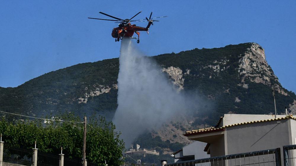 Αντιστράτηγος Πυροσβεστικής: Tα εναέρια επιχειρούν με βάση την οπτική επαφή, όχι μέσα στον καπνό