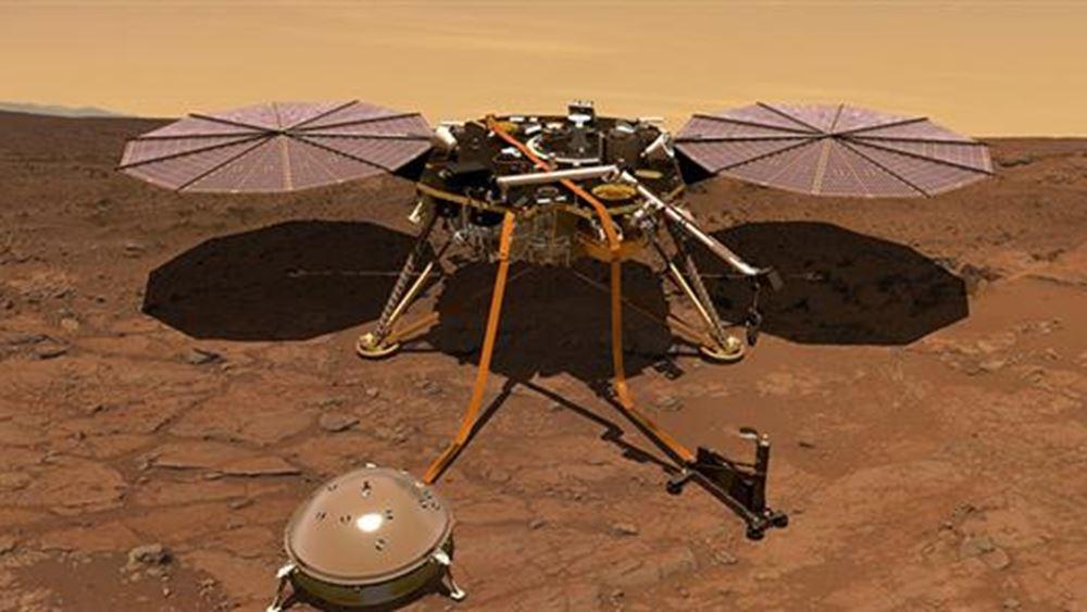 NASA: Το InSight κατέγραψε τον πρώτο σεισμό στον Άρη