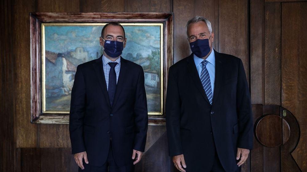 Συνάντηση Βορίδη - Κατσανιώτη για την ενημερωτική εκστρατεία των απόδημων Ελλήνων