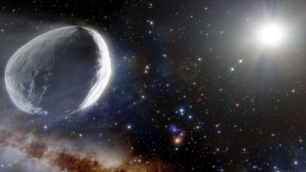 Ανακαλύφθηκε ο άγνωστος έως τώρα γιγάντιος κομήτης Μπερναρντινέλι-Μπερνστάιν