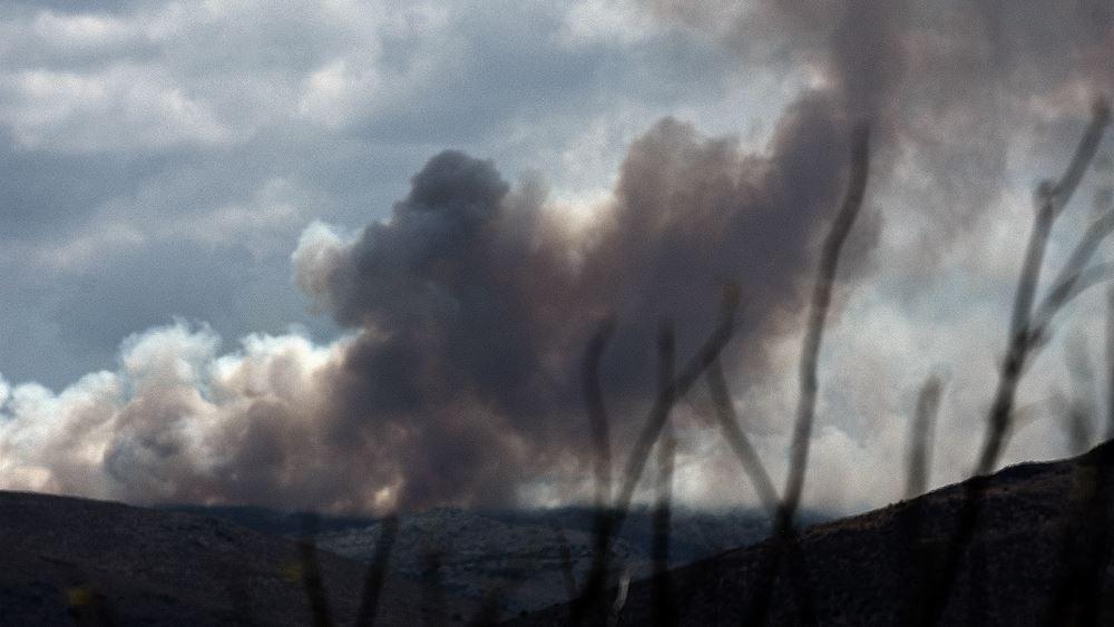 Ναύπλιο: Καλή είναι η εικόνα που παρουσιάζει η πυρκαγιά στην τοπική κοινότητα Αραχναίου