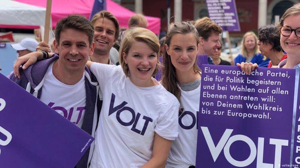 Ευρωεκλογές: Το νέο κόμμα Volt - Προεκλογική καμπάνια γεμάτη ...ενέργεια