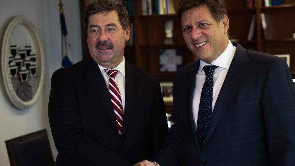 Μ. Βαρβιτσιώτης: Ενισχύουμε τη συνεργασία μας με τη Σλοβακία στο κοινό όραμα για την ΕΕ