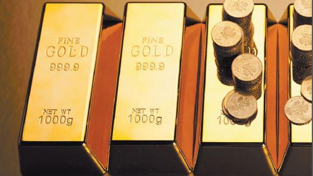 """Πτώση για τον χρυσό με """"άρωμα"""" profit taking"""