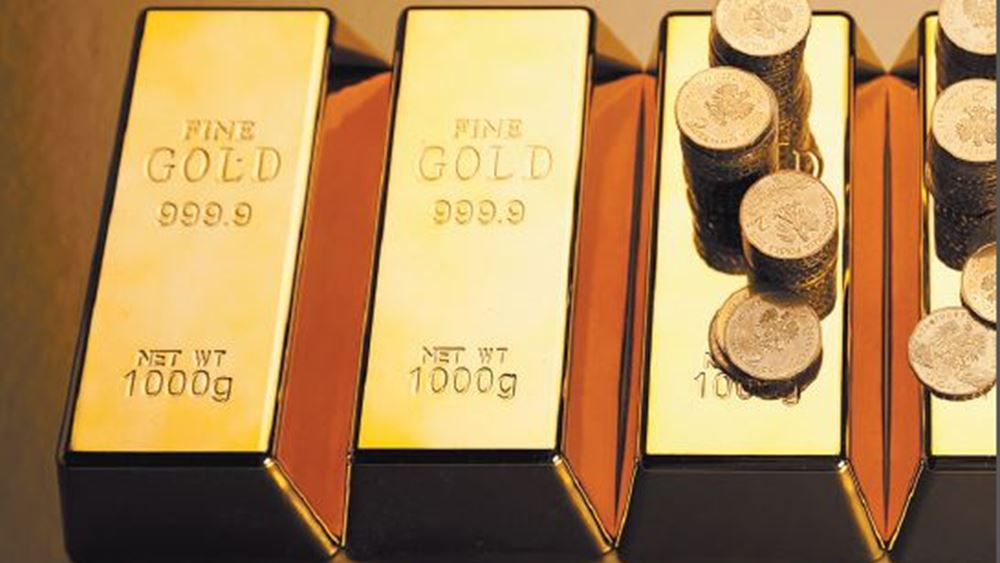 Τρίτη διαδοχική συνεδρίαση με κέρδη για τον χρυσό