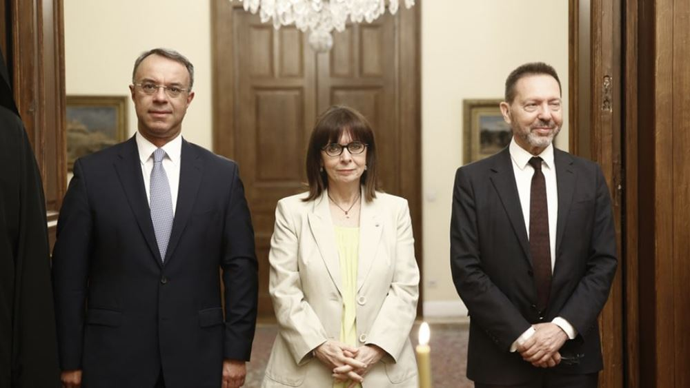 Oρκίστηκε ο Ιωάννης Στουρνάρας ως Διοικητής της Τράπεζας της Ελλάδος, για δεύτερη θητεία