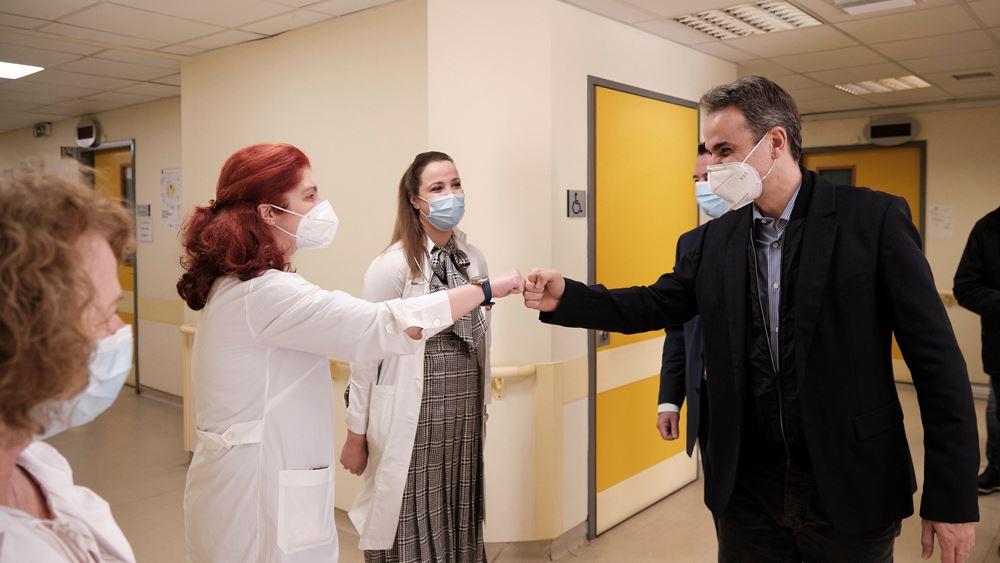 Μητσοτάκης: Μέχρι να εμβολιαστεί ένα σημαντικό ποσοστό να προσέχουμε για τρίτο κύμα πανδημίας