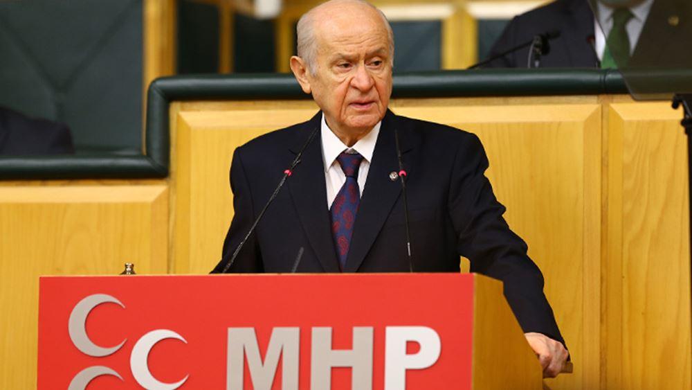 """Σάλος με Μπαχτσελί: """"Σωστή απόφαση"""" όσα έκαναν στους Αρμένιους - Να τιμήσουμε τους """"ήρωες"""" που το αποφάσισαν"""