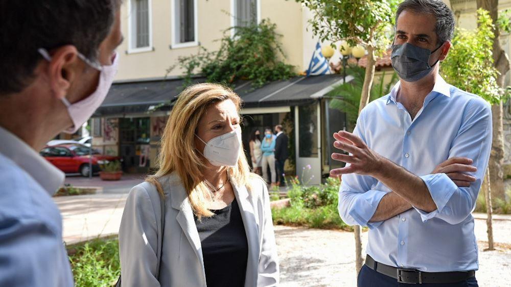 """Δήμος Αθηναίων: Τα """"πάρκα τσέπης"""" επεκτείνονται στις γειτονιές της Αθήνας"""