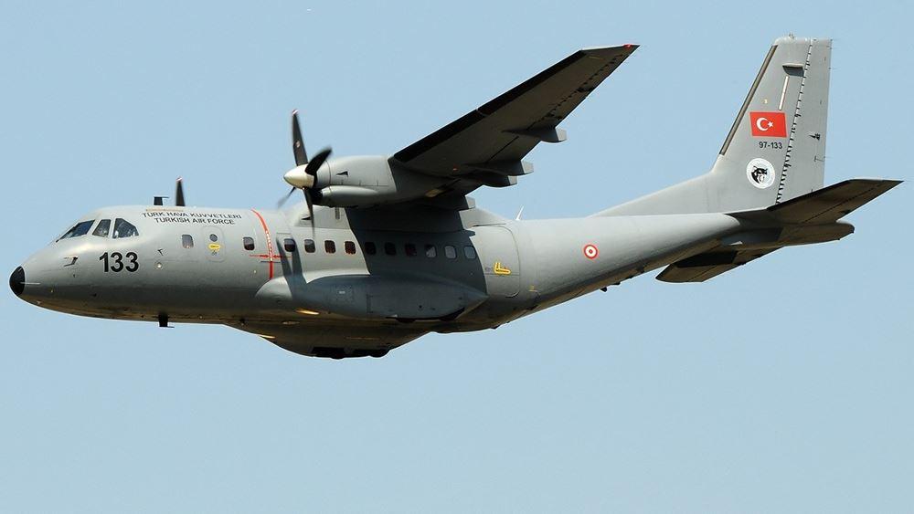 Τουρκικά αεροσκάφη πέταξαν πάνω από τους Ανθρωποφάγους