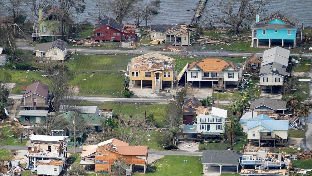 ΗΠΑ: Τουλάχιστον 14 νεκροί από τον κυκλώνα Λόρα στη Λουιζιάνα και το Τέξας