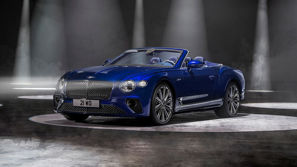 H Bentley αποκαλύπτει τη νέα Continental GT Speed Convertible