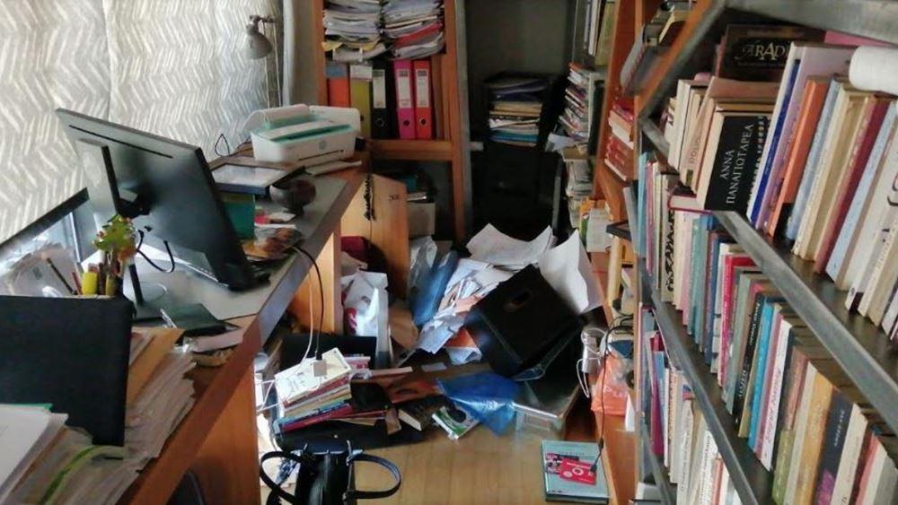 Φωτογραφία από το σπίτι της Εισαγγελέως Τουλουπάκη - Τι έψαχναν οι διαρρήκτες στο γραφείο της