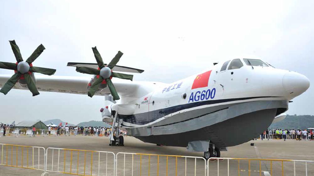 Επιτυχημένη η παρθενική πτήση του AG600, του πρώτου μεγάλου κινεζικού αμφίβιου αεροσκάφους