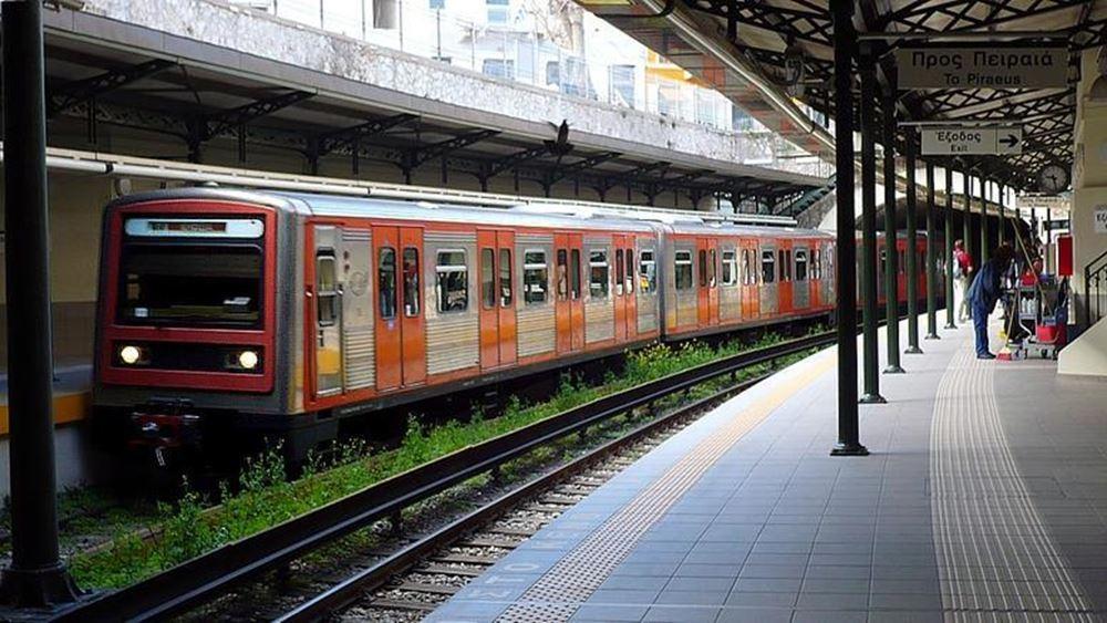 Στο τμήμα Πειραιάς-Αττική γίνονται τα δρομολόγια της γραμμής 1 Μετρό