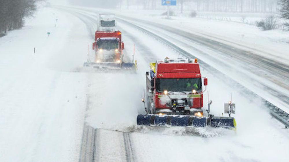 ολλανδία-χιόνι