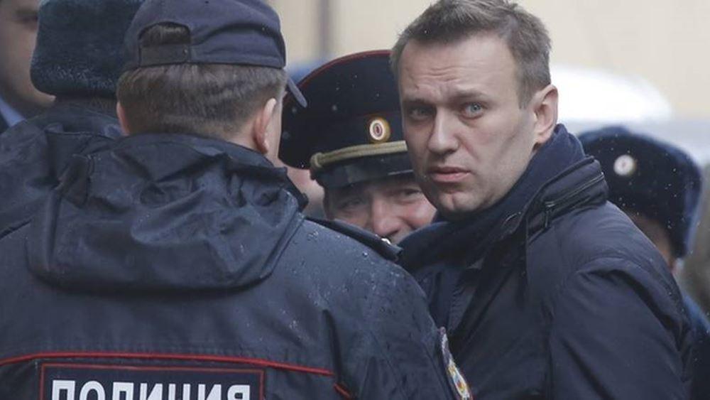 Ρωσία: Αφέθηκε ελεύθερος ο αντιπολιτευόμενος πολιτικός Α. Ναβάλνι