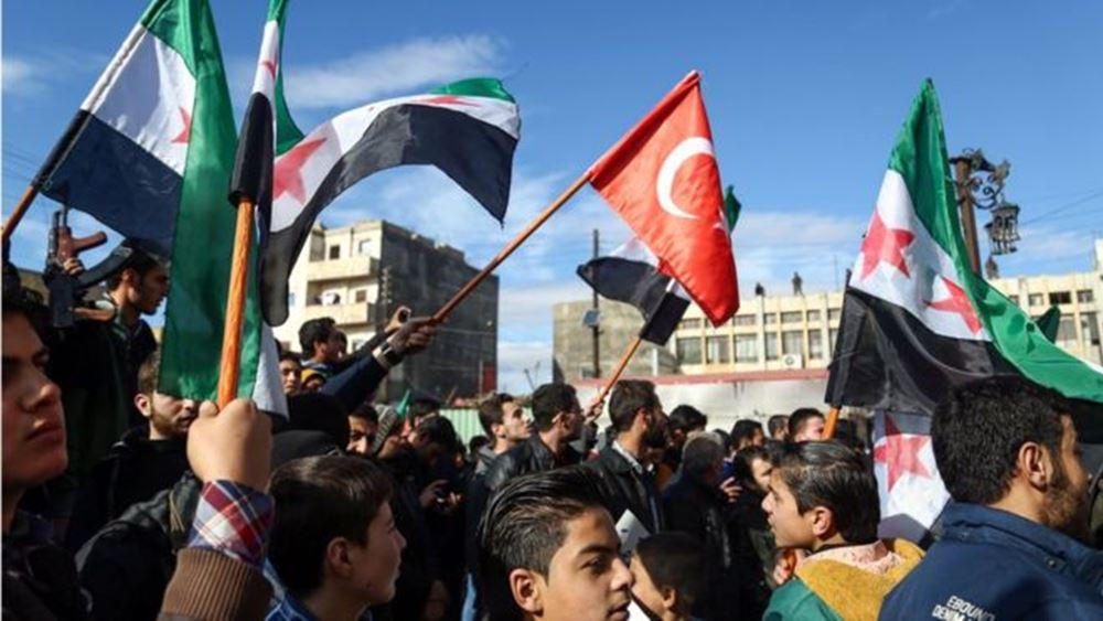 Συρία: Οι αντικαθεστωτικοί αντάρτες που στηρίζει η Τουρκία κινούνται προς τη Μάνμπιτζ