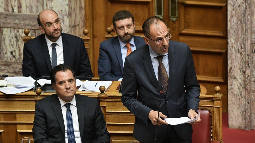 """Γ. Γεραπετρίτης: """"Κύριε Τσίπρα έχετε δυσανεξία στην επαγγελματική απασχόληση"""""""