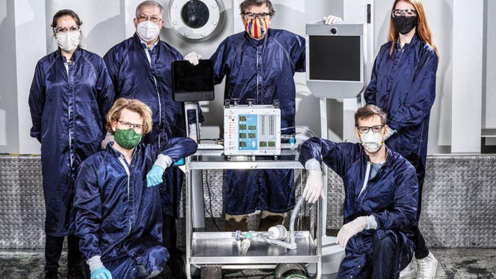 NASA: Κατασκεύασε σε μόνο 37 μέρες έναν μηχανικό αναπνευστήρα