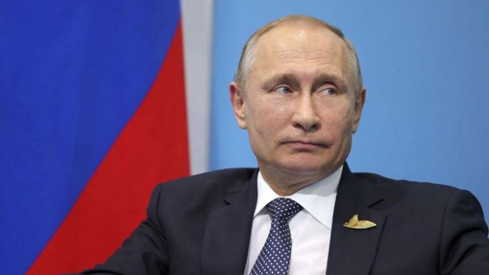 "Putin: Το 90% των συριακών εδαφών απελευθερώθηκε από τους ""τρομοκράτες"""
